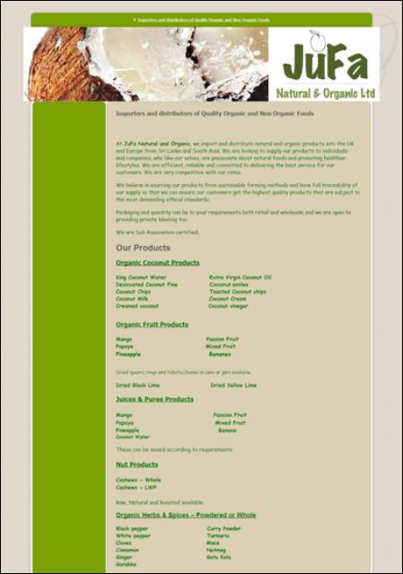 Wholesalers - About Organics